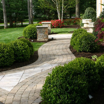 Projects designed and built by Old Farms Landscaping