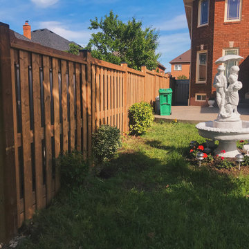 PT Brown Air Flow Fence with Multi-House in Mississauga