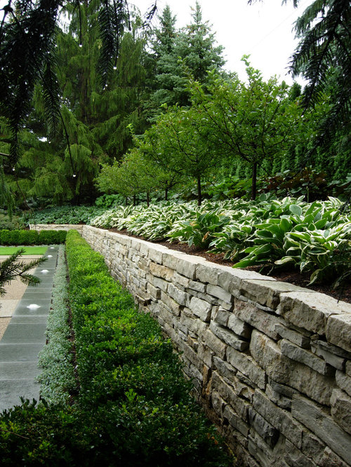 11 Best Transitional Retaining Wall Landscape Ideas & Designs | Houzz