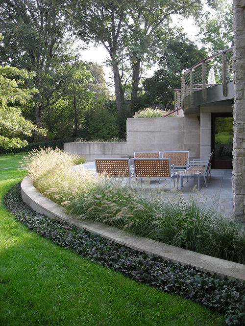 landscaping ideas around patio - modern patio - Landscaping Ideas Around Patio