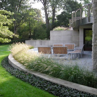 Design ideas for a transitional shade landscaping in Detroit.
