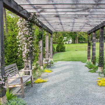Rain garden and meadow