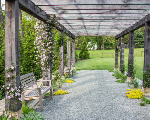 Side Yard Pergola Home Design Ideas, Pictures, Remodel and ... on Side Yard Pergola Ideas id=68036