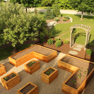 Raised Vegetable Garden Perfect for Home Grown Produce