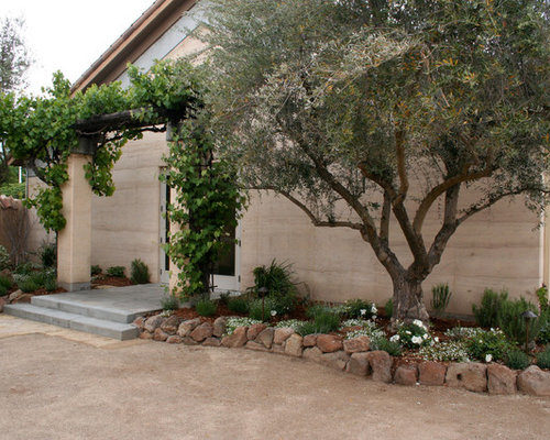 Moss Rock Border Home Design Ideas Pictures Remodel And