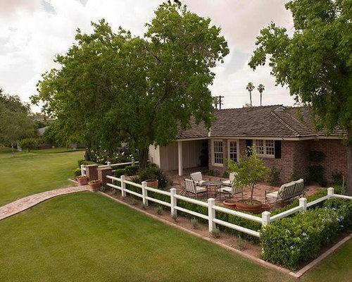 Fotos de jardines dise os de jardines de estilo de casa de campo en phoenix - Jardines de casas de campo ...