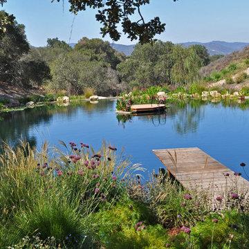 Ranch Reservoir & Nectar Garden w/ BioHaven Floating Island