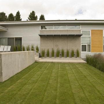 Rear Terrace and Yard