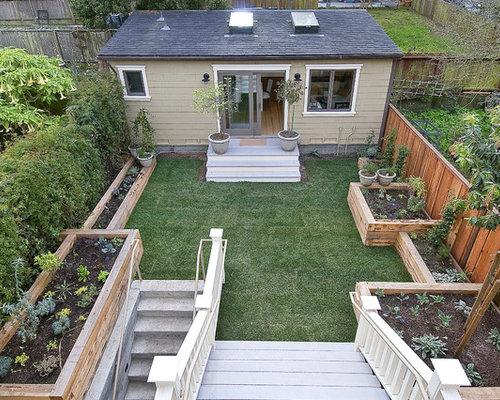 backyard garden houzz