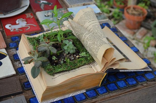 Angoli lettura meravigliosi per leggere in giardino o in for Scaletta decorativa