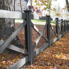 Farmhouse Landscape by Britain Fence LLC