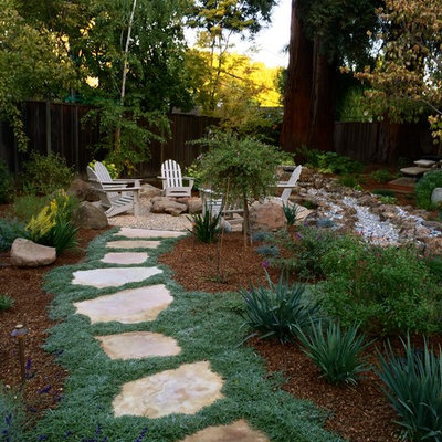 Design ideas for a traditional landscaping in San Francisco.