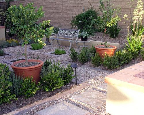 Gravel paving houzz for Prayer garden designs