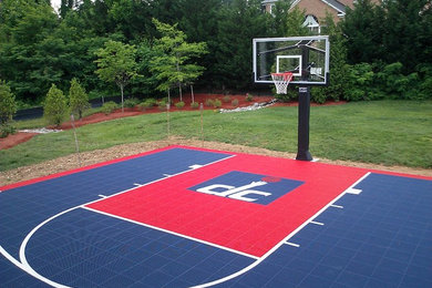 Sport Court Of Washington Dc Project Photos Reviews Fairfax Station Va Us Houzz