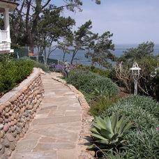 Beach Style Landscape by Environs Landscape Architecture, Inc.