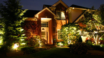 Residential Front Yard Lighting