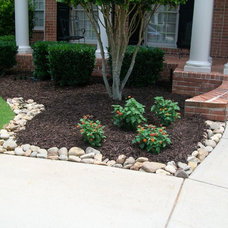 traditional landscape by Pierce Landscape Designs