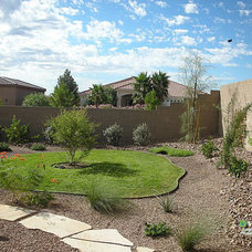 Traditional Landscape by V.I.P. Landscaping And Lawn Care