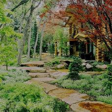 Traditional Landscape by Pendleton Design Management
