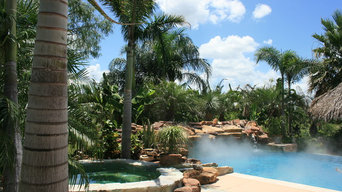 Residential Pool, Landscaping and Palapa