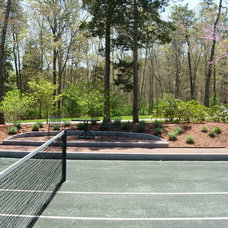 Traditional Landscape by Cape and Island Tennis & Track