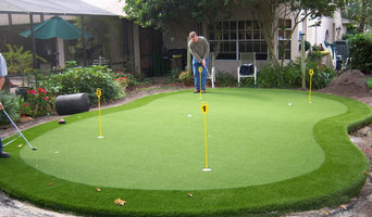 Residential Synthetic Putting Green Pictures