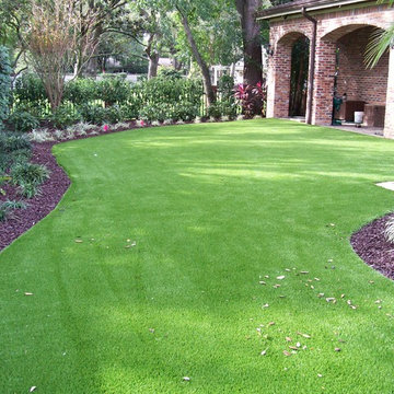 Residential Synthetic Turf Pictures