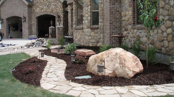 Residential Walkway Brick and Stone Home in Draper, Utah