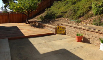Retaining wall In Oakland Ca...All Access 707-534-1035
