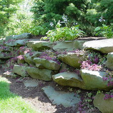 Traditional Landscape by Great Lakes Landscape Design