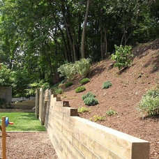 Contemporary Landscape by Johnson's Landscaping Service