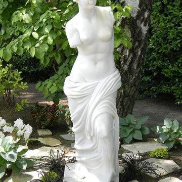 Reverie Place Garden - statue addition landscape & photography