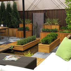 Contemporary Landscape by Chicago Specialty Gardens, Inc.