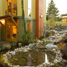 Modern Landscape Rhodes Architecture + Light, Seattle Architect