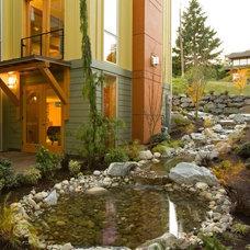 Modern Landscape Rhodes Architecture + Light, Seattle Architect
