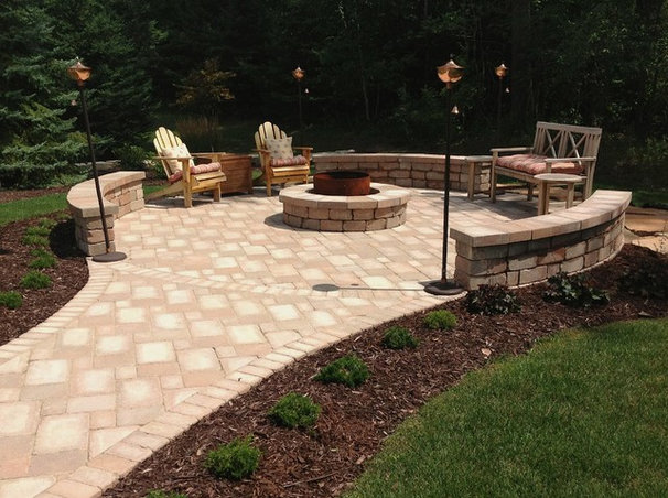 Mediterranean Fire Pits by Springhetti Custom Outdoor Living