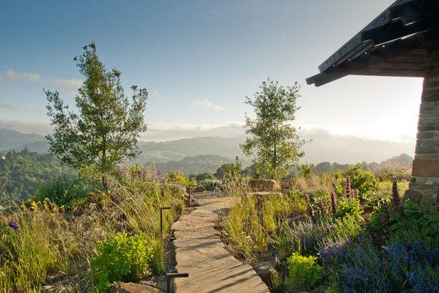 Modern Garten by David Thorne Landscape Architect