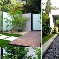 Modern Landscape by RIOS CLEMENTI HALE STUDIOS