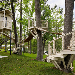 Design ideas for a transitional outdoor playset in Nashville.