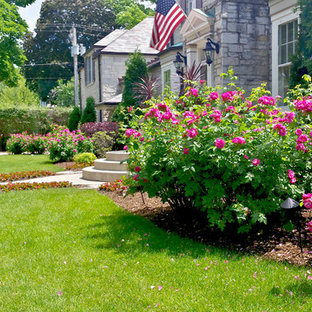 75 Beautiful Transitional Front Yard Landscaping Pictures ...