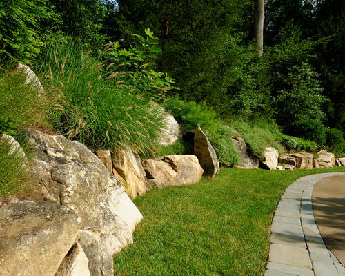 Boulder Retaining Wall Home Design Ideas Pictures