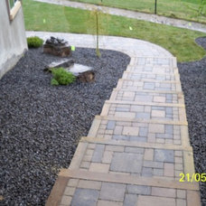 Modern Landscape by Calgary Landscaping Service