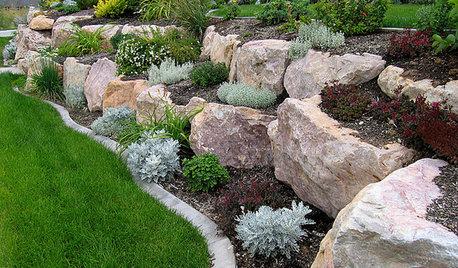 Ideas para el jardín: Construye una rocalla para terrenos con desnivel
