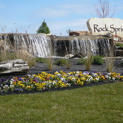 Louisville tropical pond landscape design ideas pictures for Landscaping rock louisville ky