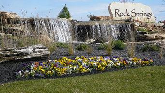 Rock Springs Subdivision Entrance