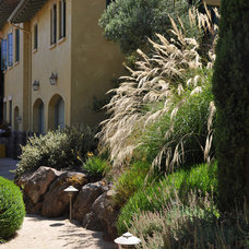 Traditional Landscape by Arterra LLP Landscape Architects
