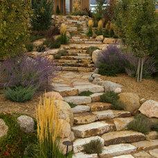 Rustic Landscape by Fredell Enterprises, Inc.