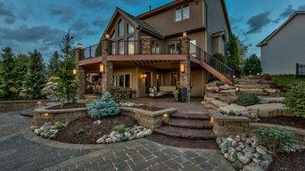 Rocky Mountain Luxury Backyard Landscape