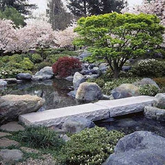 asian landscape by Ron Herman Landscape Architect