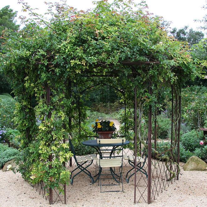 Traditional Patio by Donna Lynn - Landscape Designer